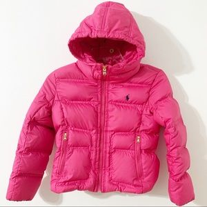 Ralph Lauren Hooded Down Puffer Jacket
